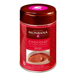 Chocolat en poudre arôme Epices- Boîte 250g