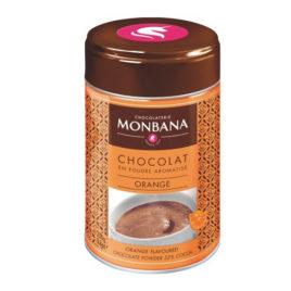 Chocolat en poudre arôme Orange – Boîte 250g